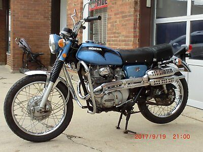 1972 Honda CL  CL350 Honda 350 Scrambler Twin Vintage On/Off Road Collector Antique Original