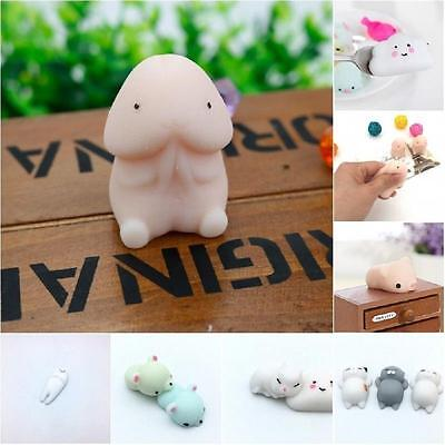 Cute Animal Vent Toys Simulation Anti Stress Pressure Reliever Autism Mood Toy J