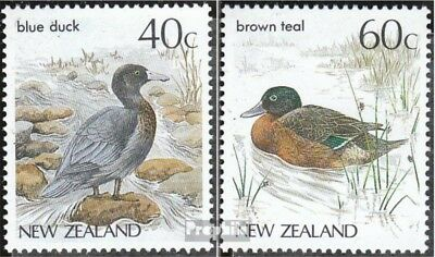 New Zealand 984-985 (complete.issue.) unmounted mint / never hinged 1987 Birds
