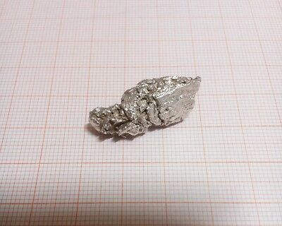 12.24 Grams Large Natural Pure Silver Nugget