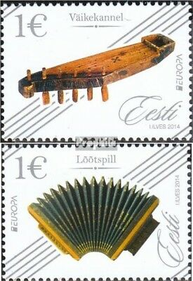 Estonia 794-795 (complete.issue.) unmounted mint / never hinged 2014 Musical Ins
