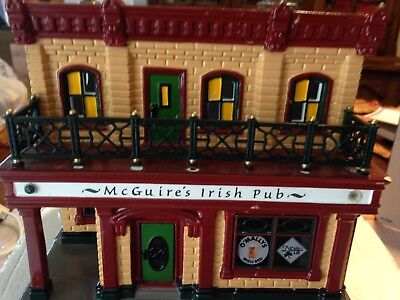 Department 56, Snow Village, McGuires Irish Pub