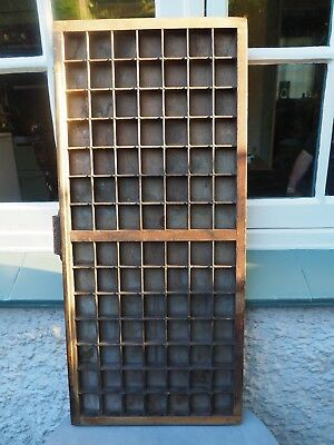 Vintage Printers Drawer 98 separate compartments