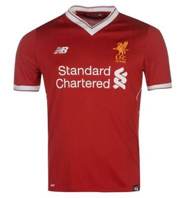 Liverpool Home 2017 2018 Red Football Shirt, Brand New With Tags, All Sizes