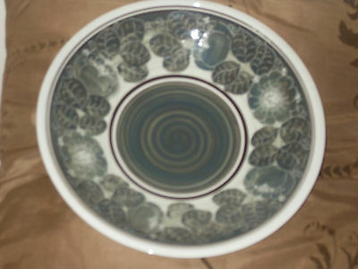 Jersey Pottery Freehand Painted Bowl
