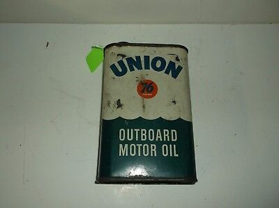 Union 76 Oil Can Outboard Motor Oil