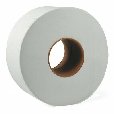 """9"""" Large 2Ply Jumbo Roll Bathroom Toilet Tissue Paper Roll of 12"""