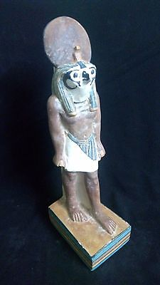 Ancient Egyptian statue of god Horus (300 - 250 BC)
