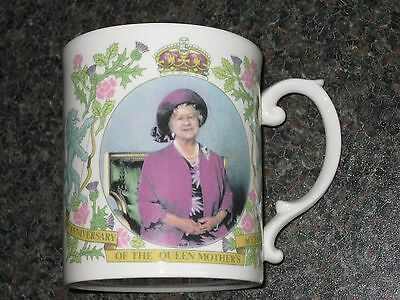 Peter Jones - Sutherland Mug. 50th Anniversary Queen Mothers Accession 1987