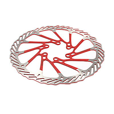 SS 2 x MTB Bike Stainless Steel Disc Brake Rotor 160mm with 12 Bolts Set Red