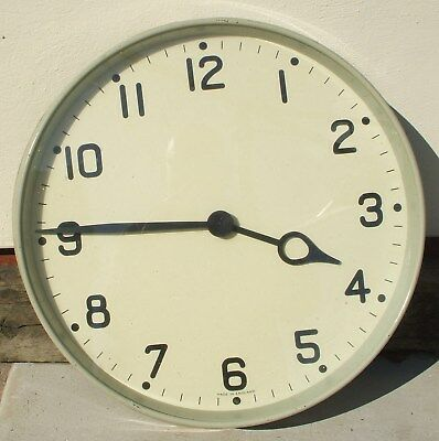 Gents Electric Slave Clock For Operation Off A Master Clock