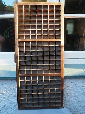 Vintage Printers Drawer 147 separate compartments