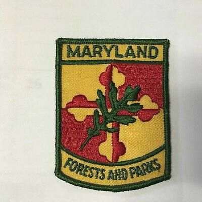Maryland Forest And Park Service Patch 1963-1965