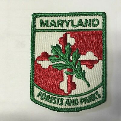Maryland Forest And Park Service Patch 1965-1972