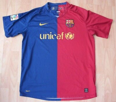 Barcelona 2006 Home Nike Football Soccer Shirt Jersey Top Large Adult