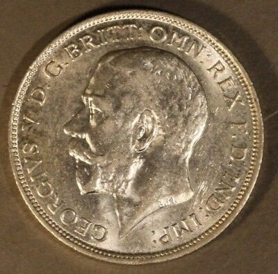 1918 Great Britain Florin High Grade Luster            ** FREE U.S. SHIPPING **