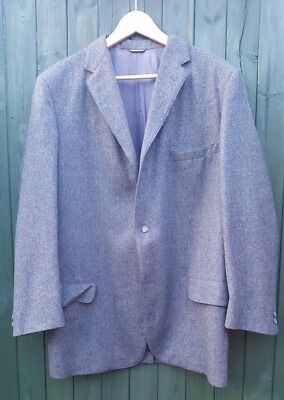 Vintage Ivy League Gray Flannel Suit 2pc Rockabilly Soul Mod Made in the USA