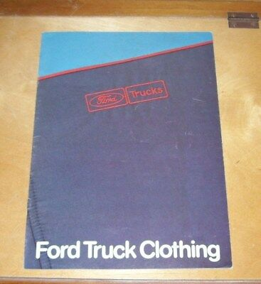 Ford Trucks Clothing Sales Brochure Fb1074