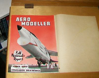 Aero Modeller Magazine Front Cover Original Artwork Crusader July 1959