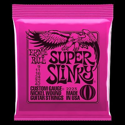 2223 Ernie Ball Slinky Electric Guitar Strings 09-42 New Free Shipping Japan