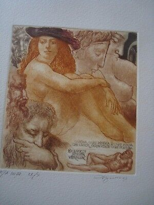 "BEKKER -- EX LIBRIS -- ""Nude and History"" - Erotic"