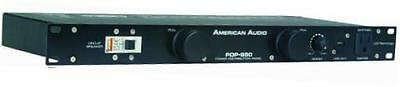 american audio pdp 850 led dimmable rack light and power distribution panel