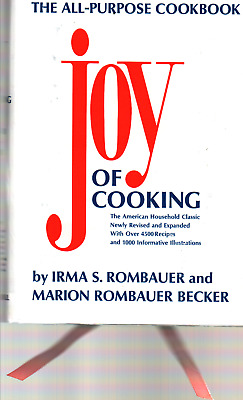 JOY OF COOKING by Irma S. Rombauer  1975 Edition  49th printing  HB/DJ