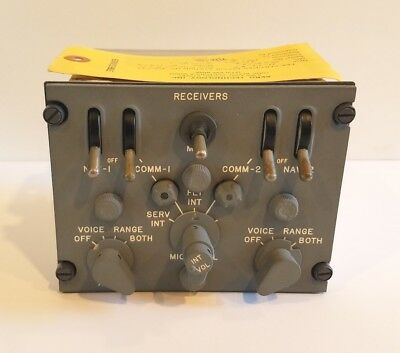 Gables G-1191A Aircraft Audio Control Panel
