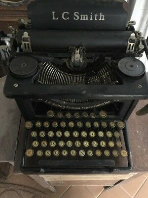 Vintage LC Smith & Corona 8 - 10 Typewriter 1920's 1930's Fresh Barn Find