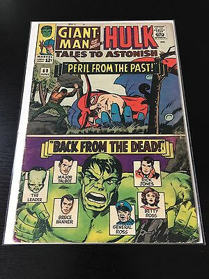 Tales to Astonish: Giant-Man and Hulk #68 June 1965 Marvel Comics Nice Comic