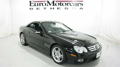 2007 Mercedes-Benz SL-Class SL550 2dr Roadster 5.5L V8 sl550 2dr roadster 5.5L V8 sl-class mercedes benz sl 550 roadster convertible 08