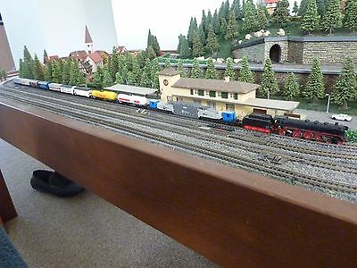 Marklin Z train working electric layout