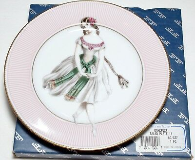 Fitz and Floyd Limited Edition Danceuse Salad Plate II UPC 742414124247