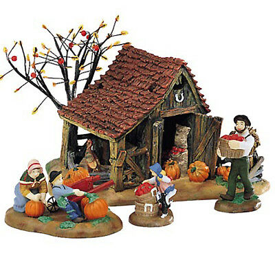 DEPT 56 It's Almost Thanksgiving New England Village Series 56.56639