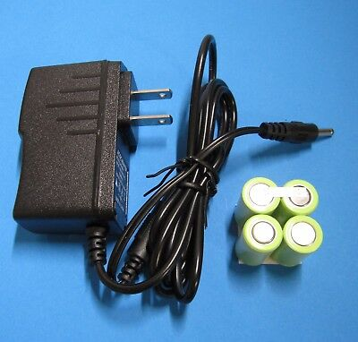 NiMh BATTERY PACK + WALL CHARGER /AC ADAPTER for Sartorius Biohit eLine Pipette