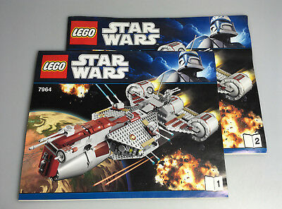 lego star wars bauanleitung f r 7680 the twillight ungelocht instructions eur 13 90. Black Bedroom Furniture Sets. Home Design Ideas