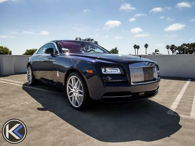 2014 Rolls-Royce Other Base Coupe 2-Door 2014 Rolls-Royce Wraith Coupe Ca Car Low Miles Giovanna Wheels Lease Available