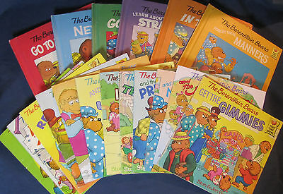 Lot of 18 Berenstain Bears First Time Books HC & PB  - Free Shipping!
