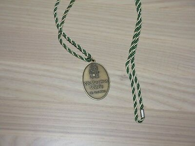Leipzig Db Marathon 1992 Medaille Original Teilnehmer Finisher - Top Rar