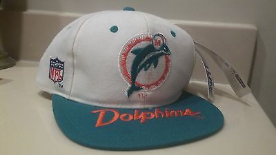 NWT Vintage Miami Dolphins Snapback Pro Line Sports Specialties Hat 90s