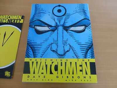 WATCHMEN  ACTION FIGURE and BOOKS