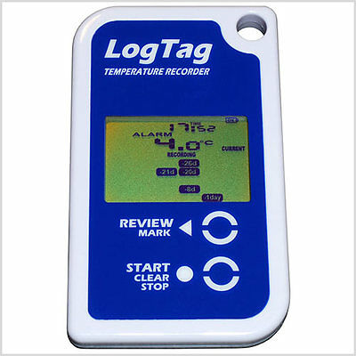 Logtag Temperature Data Logger with Display (Supplied with Aust Tax Invoice)