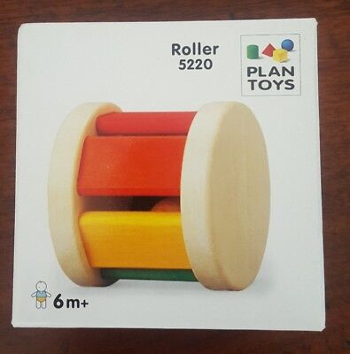 Plan Toys Baby Rattle/Roller