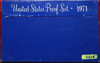 Uncirculated 1971 United States Proof Set Free Shipping