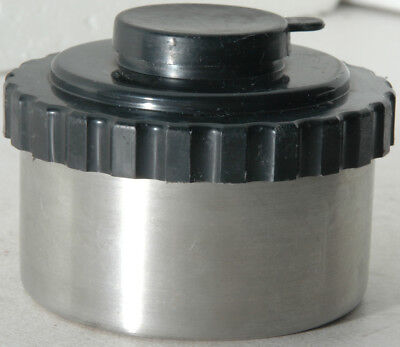 stainless steel film developing tank for processing one roll of 35mm film