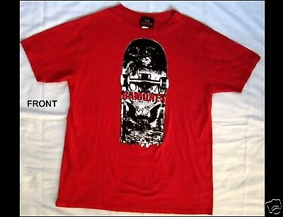 RAMONES Size XL Red T-Shirt