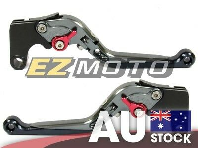 AU Stock Gray Extend Brake Clutch Levers for Ducati Hypermotard 821 SP 13 14 15