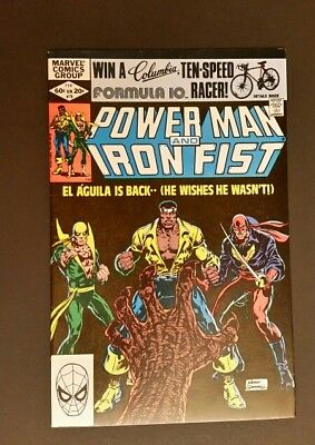 Power Man And Iron Fist 78 3Rd Appearance Of Sabertooth  Vf+ Key Issue