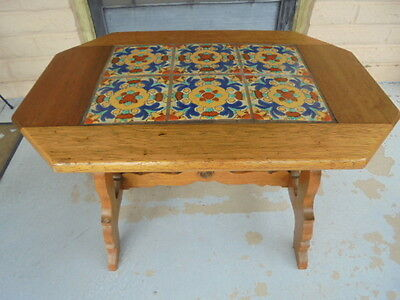Tudor California Tile top table 6 pieces