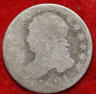 1821 Philadelphia Mint Silver Capped Bust Dime Free Shipping